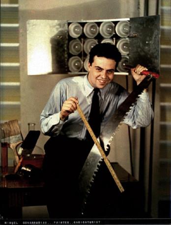 Miguel Covarrubias, illustrator, jazz age artist